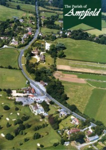 The Parish of Ampfield - Arial view