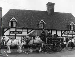 Historical Image of White Horse at Ampfield