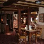 Restaurant towards bar area