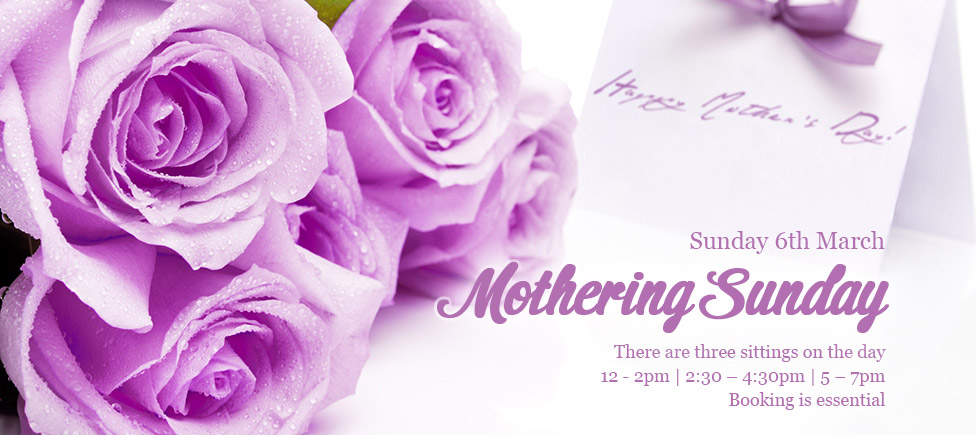Mothering Sunday 15 March 2015