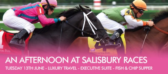 An Afternoon at Salisbury Races