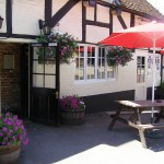 The White Horse at Ampfield Front View