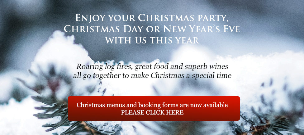 Christmas Menus Now Available