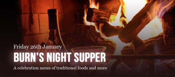 Burn's Night Supper 2018