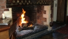 The Inglenook Fireplace in the Lounge Bar