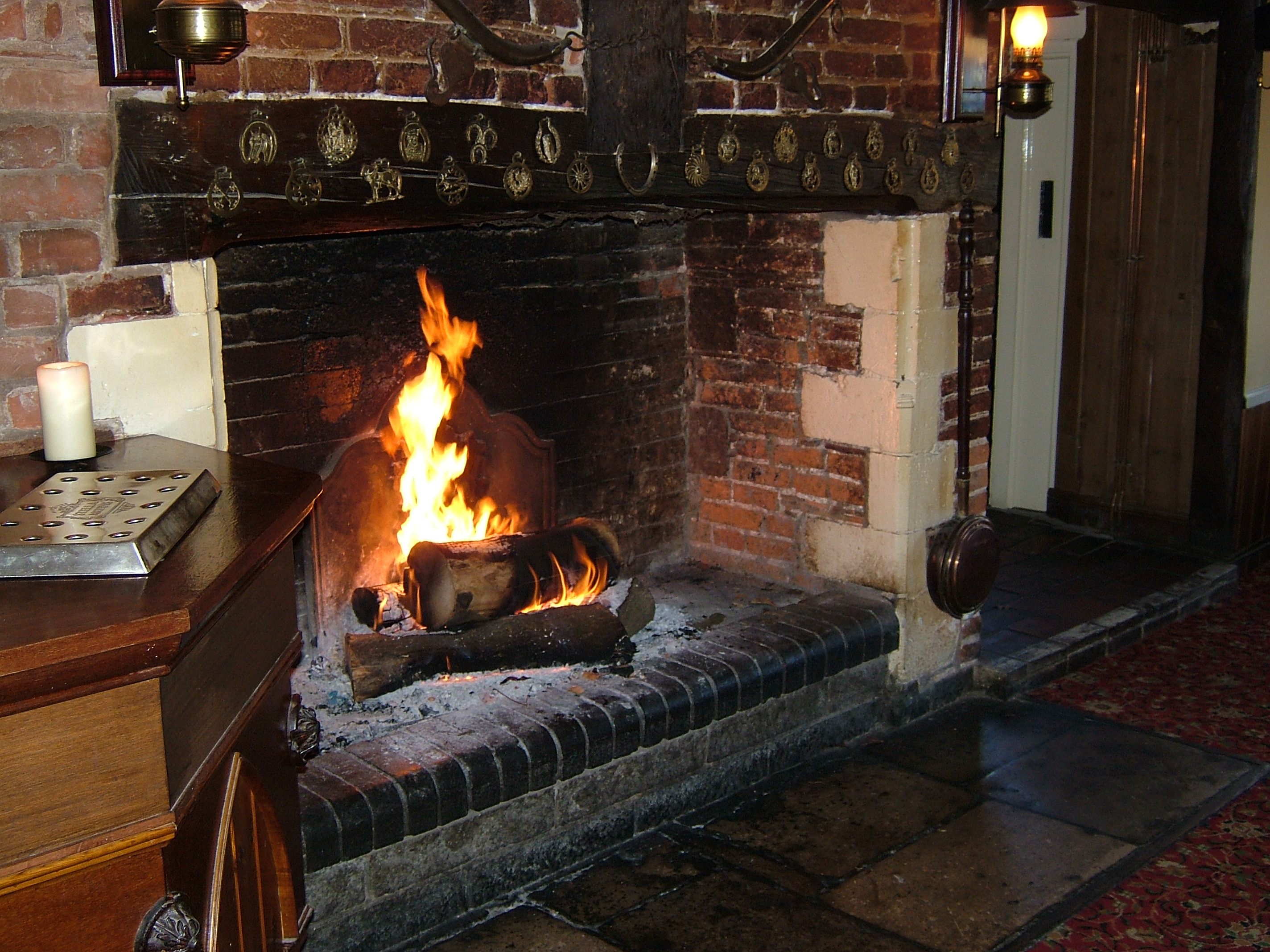 The Lounge Fireplace