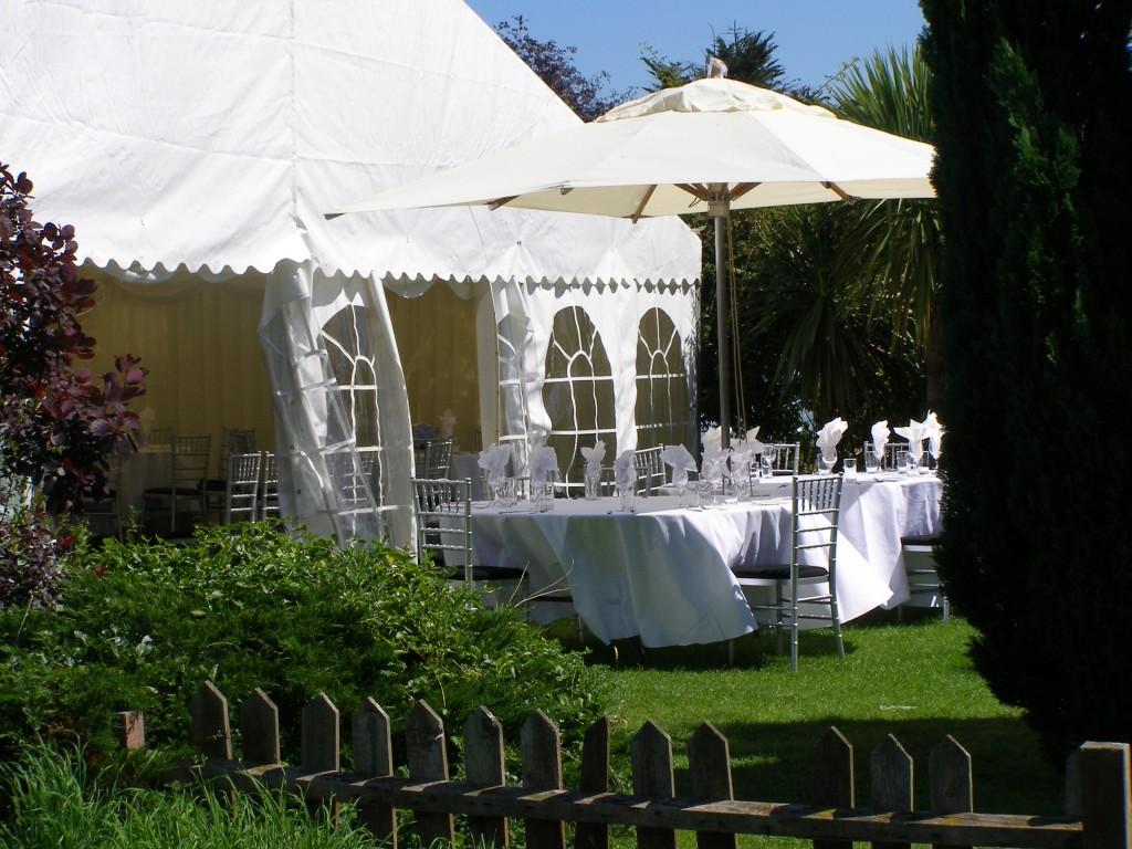 Marquee in White Horse Garden
